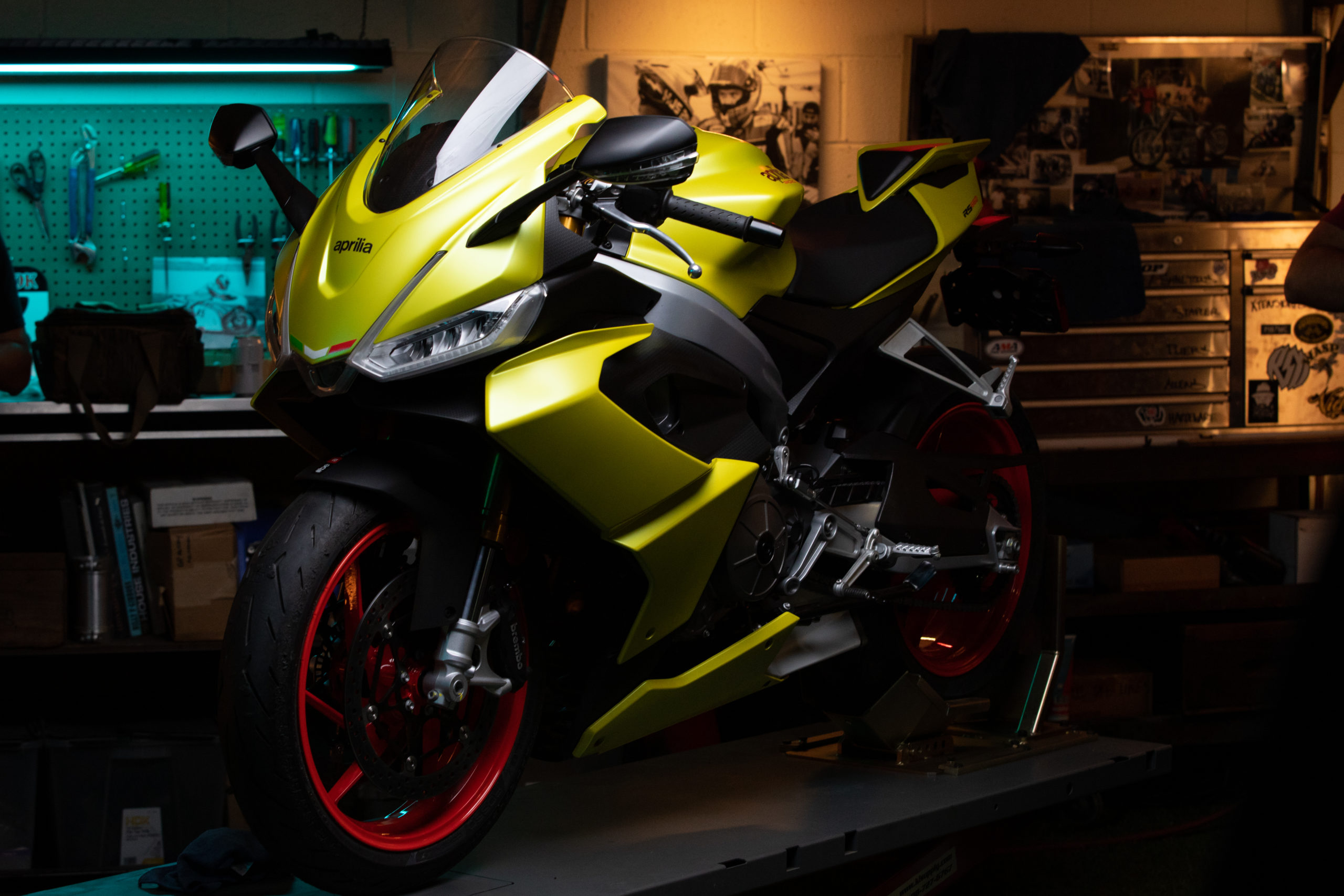 Die neuen Aprilia Motorräder 2021